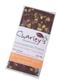 Dark Chocolate PLUS – Macadamia Praline