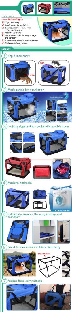 Soft-Sided Pet Carrier Bag