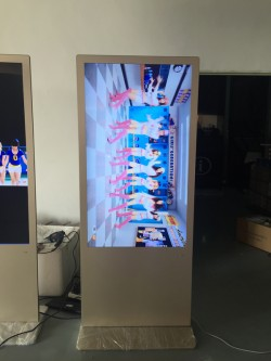 Floor stand wifi 55 inch LCD advertising touch screen digital signage totem price