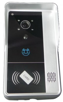 WiFi Doorbell with card access