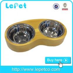 Custom logo Easy-eating for large dogs wholesale elevated dog bowl with logo