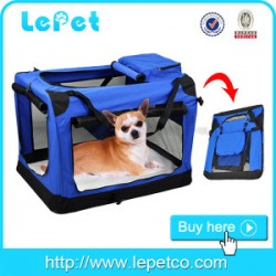For Amazon and eBay stores Foldable soft dog kennel pet carrier/soft dog carrier bag