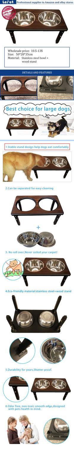 Dog bowl wholesale elevated dog bowls raised dog bowl stand manufacturer wholesale