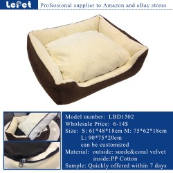 Dog supplies online wholesale luxury dog bed/sofa bed luxury pet bed/dog sofa bed