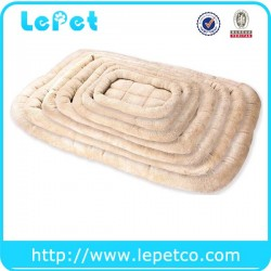 Manufacturer wholesale dog beds with removable cushion and cover soft and warm dog pet mat