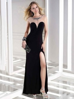 Long Evening Dresses, Floor Length Evening Gowns – dressfashion.co.uk