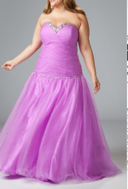 US$168.99 2015 Sweetheart Lace Up Tulle Floor Length Lilac Beading Satin Sleeveless Ruched