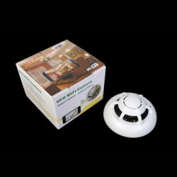 充実した火災報知器型カメラ