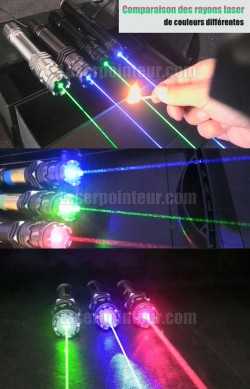 Pointeur laser vert 2000mW professionnel le plus puissant