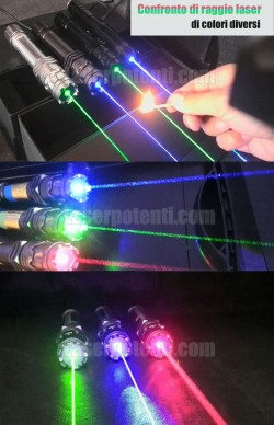 Puntatore laser verde 2000mW professionale