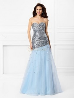 Mermaid Prom Dresses, Cheap Trumpet Prom Dresses Online – Bonnyin.com