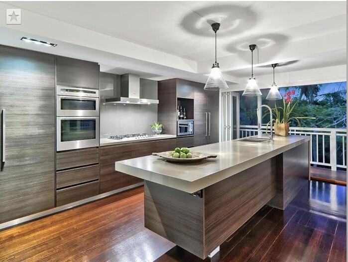Hot sale wood veneer kitchen cabinet