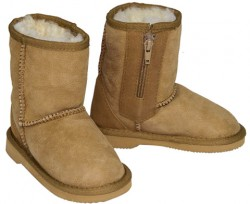 Kiddies Zippered Uggs