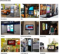 Dual Screen Digital Signage with Camera