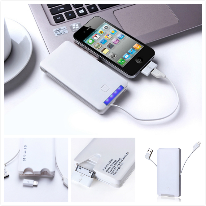 Built in cable Power charger