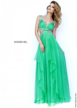 2015 Cheap SAle Sherri Hill 9728 Sexy Cut Out Dress Prom Dresses – Sherri Hill Dresses
