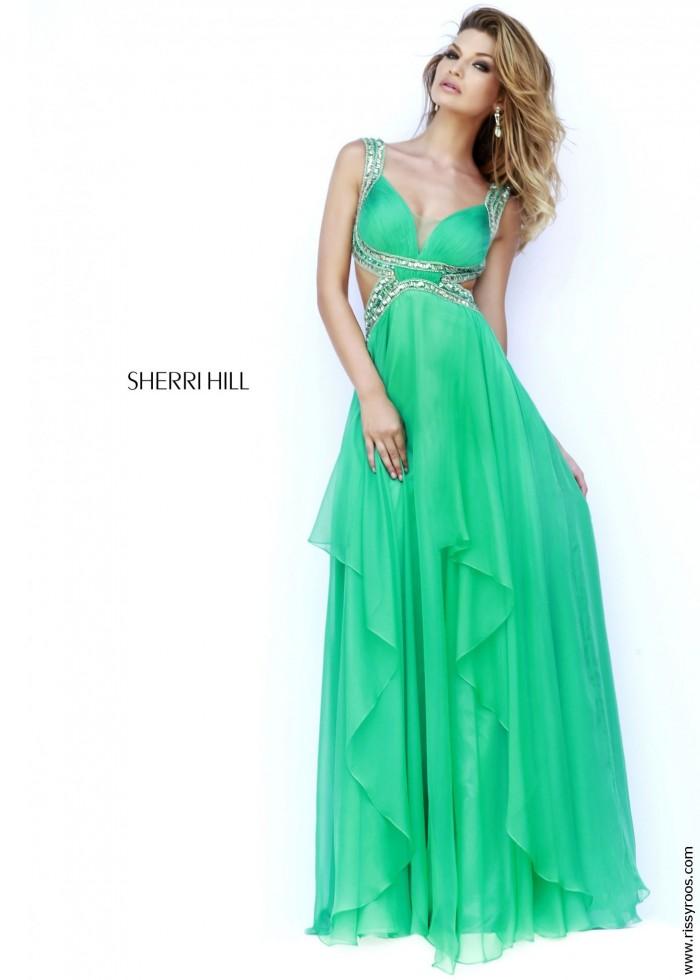 2015 Cheap SAle Sherri Hill 9728 Sexy Cut Out Dress Prom Dresses – Sherri Hill Dresses