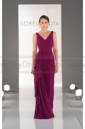Sorella Vita Purple Bridesmaid Dress Style 8338 – Wedding Party