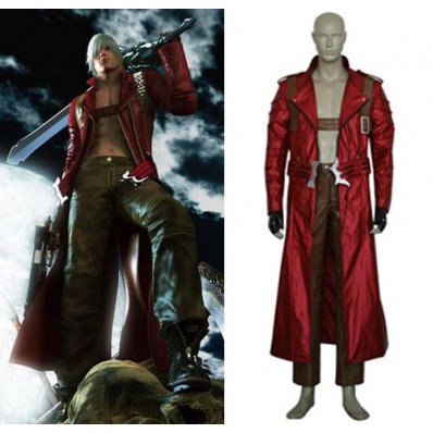 alicestyless.com Devil May Cry 3 Dante Cosplay Costume