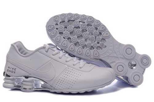 Women's Nike Shox Oz Shoes White/Silver 4NQ2F2,Shox,Jordans For Sale,Jordans For Cheap,Nik ...