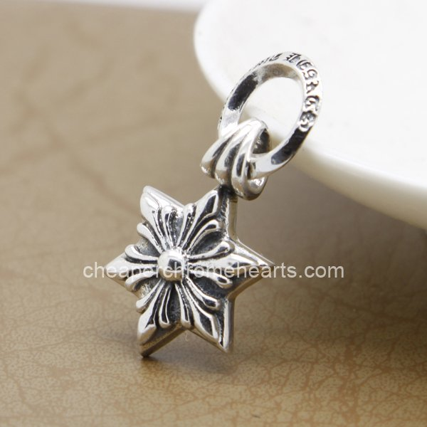 Cheap Chrome Hearts 925 Silver Retro Hexagram Pendants Hot Sale [Chrome Hearts Pendants] – ...