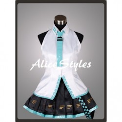 Alicestyless.com Hatsune Miku Project DIVA Teto Blue Cosplay Costume