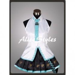 Alicestyless.com Hatsune Miku Project DIVA Teto Blue Cosplay Costume