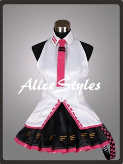 Alicestyless.com Hatsune Miku Project DIVA Teto Cosplay Costume