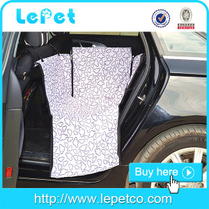 600D Oxford Waterproof pet Hammock Rear Car Seat Cover dog seat covers for car hammock