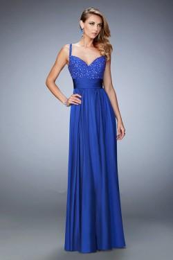 2016 La Femme 22433 Marine Blue Prom Dresses [La Femme 22433] – $189.00 : Prom and Homecom ...