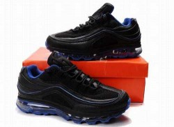 Men's Nike Air Max 24-7 Shoes Black/Blue N62EG6,Air Max,Jordans For Sale,Jordans For Cheap ...