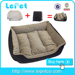 Mnufacturer wholesale Dog accessories luxury pet bed personalised dog beds