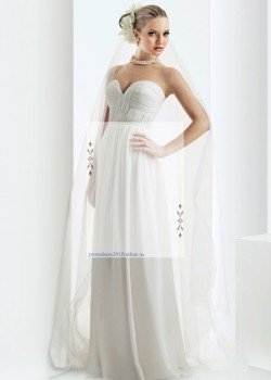 2015 White Bari Jay 2008 Strapless Ruched Chiffon Prom Bridesmaid Gown – Bari Jay Prom Dress