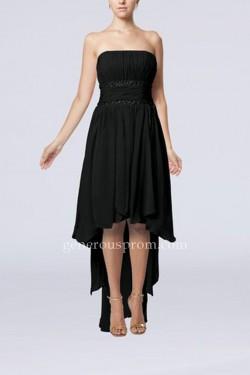 Simple Strapless High Low Little Black Dresses Cheap – $146.00 : Prom Dresses | Generous D ...