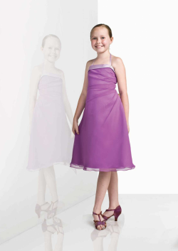 US$93.99 2015 Halter Purple Chiffon Ruched Sleeveless Knee Length