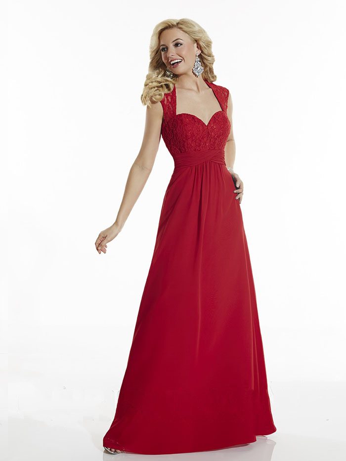 US$139.99 2016 Zipper Chiffon Red Sweetheart Lace A-line Floor Length Sleeveless Ruched
