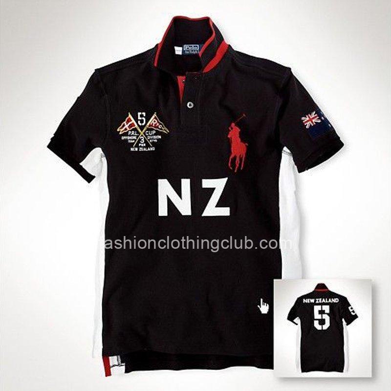 Mens Ralph Lauren Custom-Fit Ocean Race Flag Polo Shirts NZ [Ralph Lauren Polo Shirt] – $5 ...