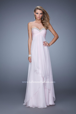 US$165.99 2015 Zipper Sweetheart Pink Blue Ruched Sleeveless Chiffon Floor Length