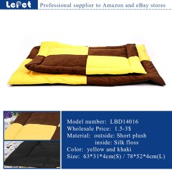 Cheap pet cushion luxury pet dog mat