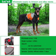 Manufacturer wholesale for amazon store adjustable Outdoor travel dog backpack dog saddlebag
