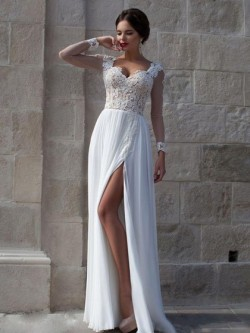 Lace Prom Dresses UK, Shop Dresses with Floral Lace for Prom