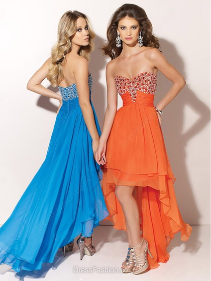 Orange Prom Dresses, Long or short Prom Dresses in Tangerine
