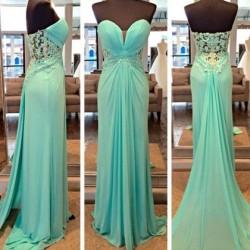 Sweetheart Prom Dresses UK, Corset Prom Gowns, DressFashion UK
