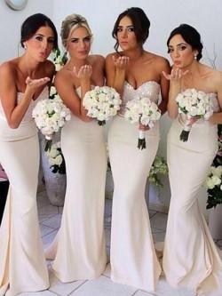 White or Ivory Bridesmaid Dresses UK at Dressfashion.co.uk