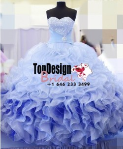 Wholesale 2017 New Hot Beaded Quinceanera Dresses Ball Gown For 15 Years Prom Party Dress CustomNEW