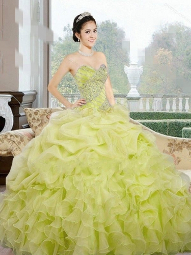 Wholesale 2017 Sweet 15 Dress New Beaded Ball Gown Prom Dress Formal Evening Party Quinceanera D ...