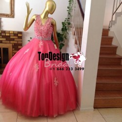 Wholesale 2017 Sweet 15 Dress New Beaded Quinceanera Dress Bridal Cocktail Party Prom Dresses Ba ...