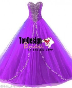 Wholesale 2017 Sweet 15 Dress New Beaded Quinceanera Dress Formal Prom Party Wedding Dresses Bal ...
