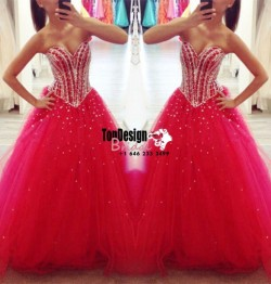 Wholesale 2017 Sweet 15 Dress Sexy Long Prom Dresses Formal Evening Party Dress Ball Gown Quince ...