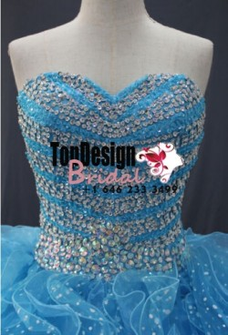 Wholesale 2017 Sweet 15 Dress Sparking Crystal Ball Gown Quinceanera Dresses for 15 Party Prom D ...
